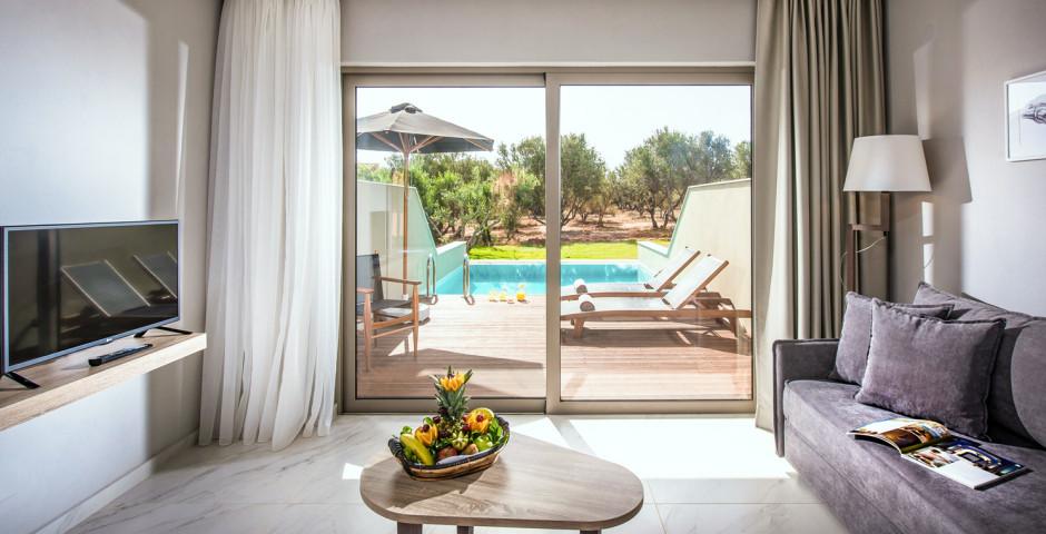 Doppelzimmer mit privatem Pool - Stella Palace Resort & Spa