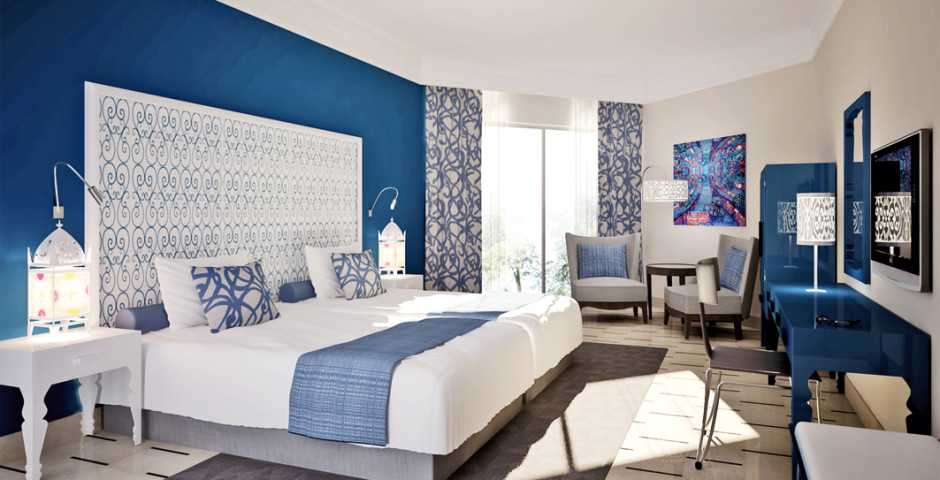 Doppelzimmer - Radisson Blu Resort & Thalasso Hammamet