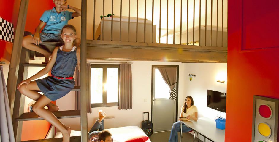 chambre thème - Village de vacances LEGOLAND® – chambres thématiques incl. entrée parc LEGOLAND®
