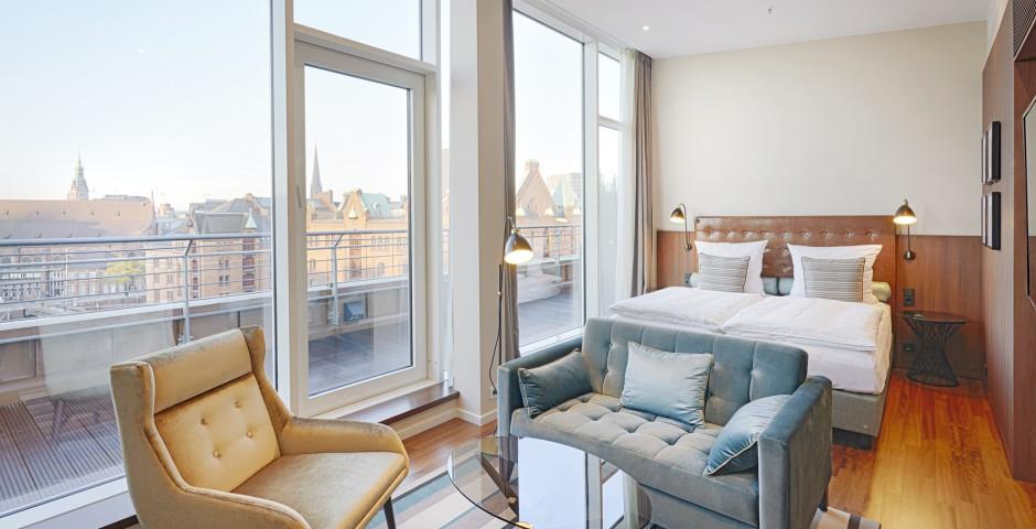 Junior Suite - AMERON Hotel Speicherstadt