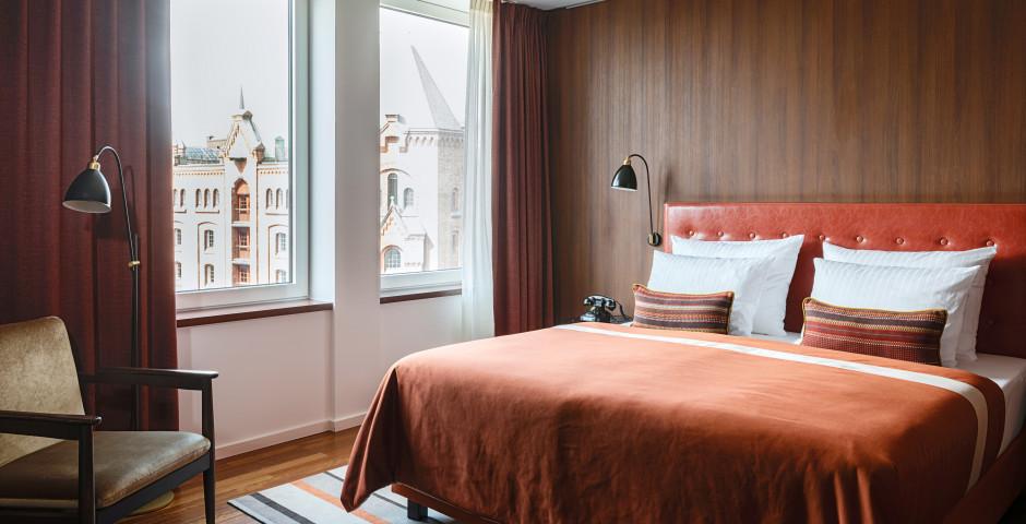 Doppelzimmer - AMERON Hamburg Hotel Speicherstadt