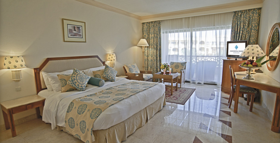 Doppelzimmer Deluxe - Continental Hotel Hurghada