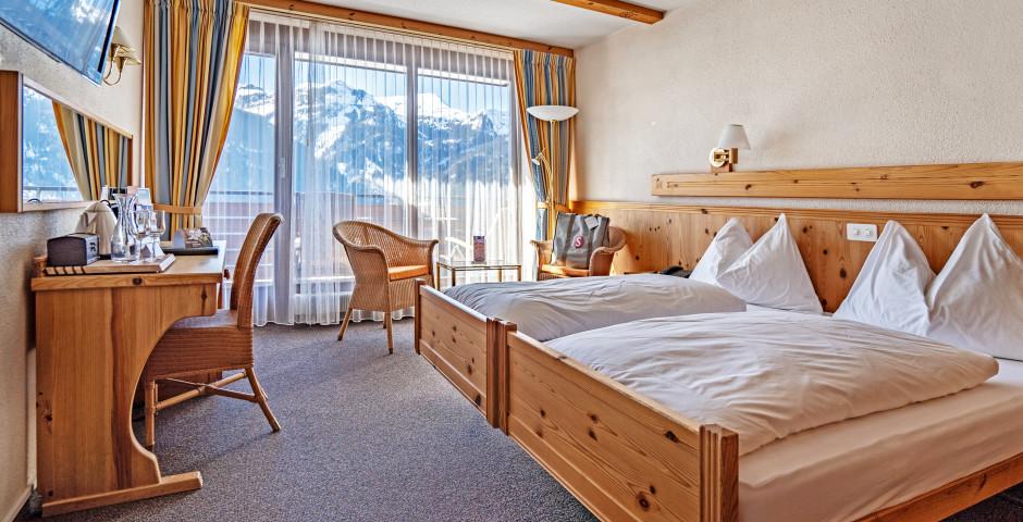 Doppelzimmer Tal - Sunstar Hotel Wengen - Skipauschale