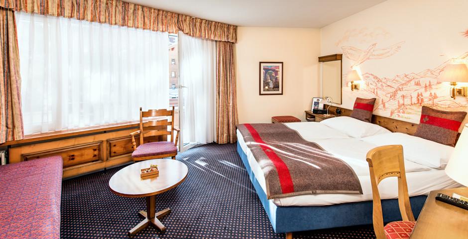 Doppelzimmer Deluxe - Best Western Hotel Butterfly - Skipauschale