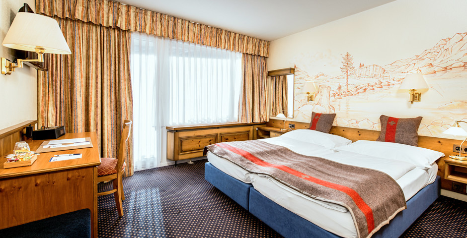 Chambre double Classic - Best Western Hotel Butterfly - Forfait ski