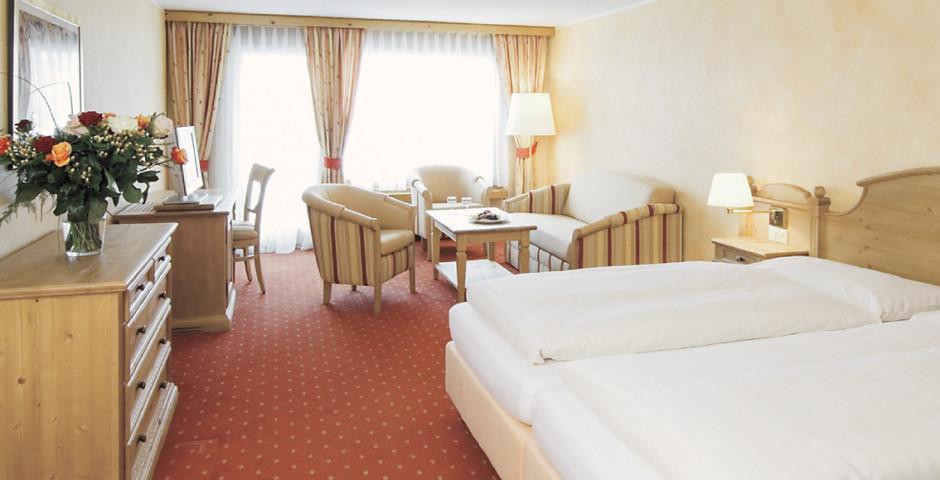 Chambre double - Silvretta Parkhotel - Forfait ski