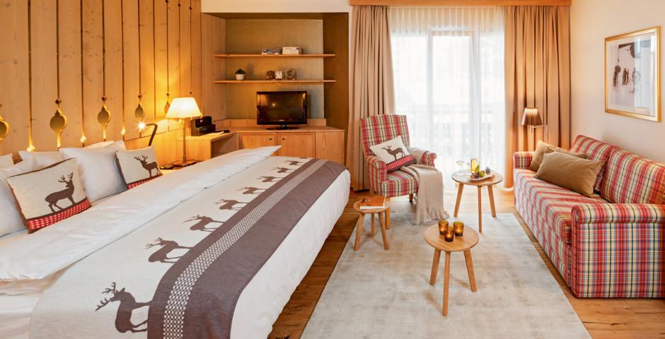 Doppelzimmer Alpenchic - Hotel Piz Buin - Sommer inkl. Bergbahnen