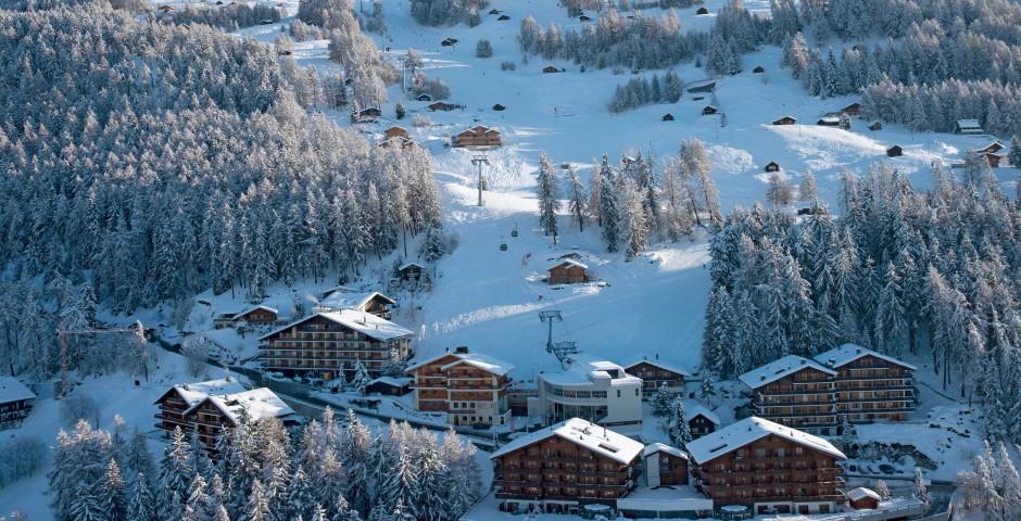 Appartements à Veysonnaz - Forfait ski