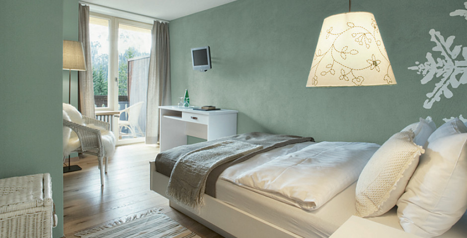 Chambre double Sud «Nuovo» - Hôtel Seehof Arosa - Forfait ski