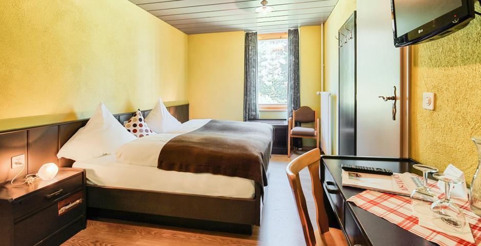 Chambre double Nord «Nouvelle» - Hôtel Seehof Arosa - Forfait ski