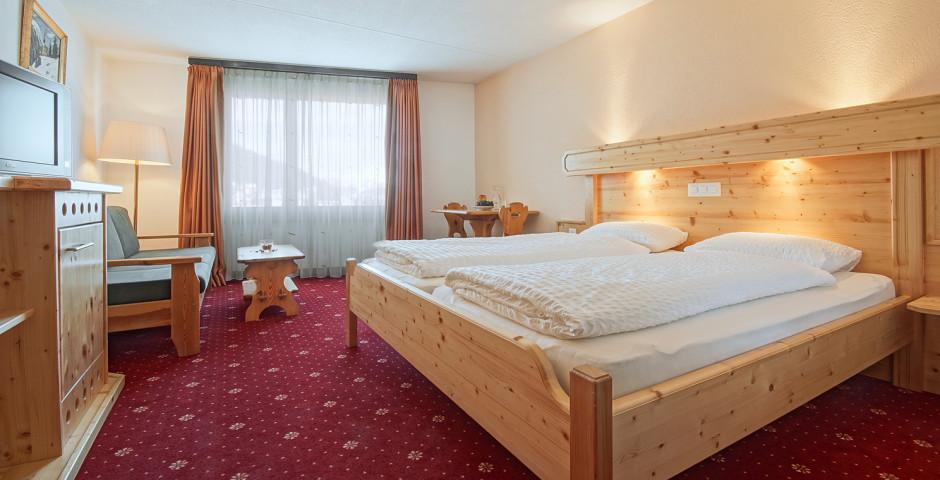 Doppelzimmer Nord - Club-Hotel Davos - Skipauschale Schnäppchen