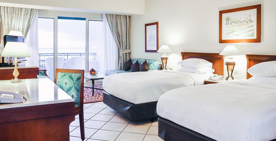 Chambre double Deluxe vue mer - Hilton Sharm Waterfalls Resort