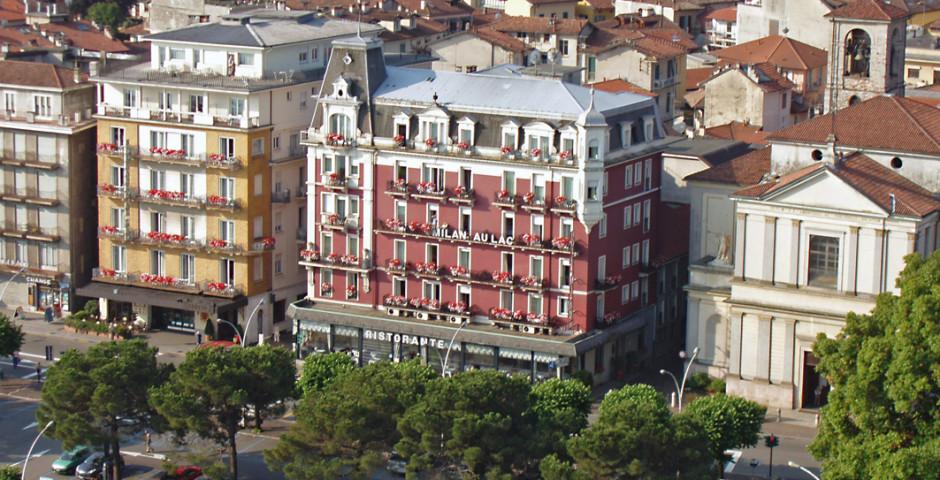 Hôtel Milan Speranza au Lac