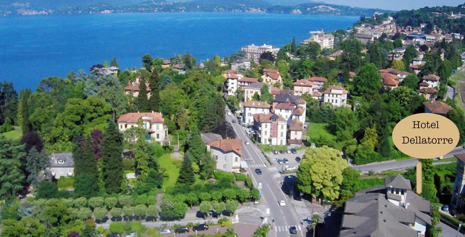 Aussicht vom Pool - Hotel Della Torre