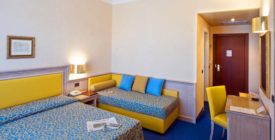 Dreibettzimmer - Hotel Della Torre