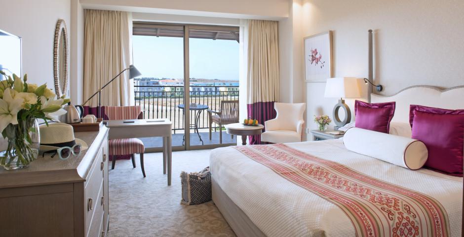 Doppelzimmer Deluxe seitliche Meersicht - Hotel Elysium