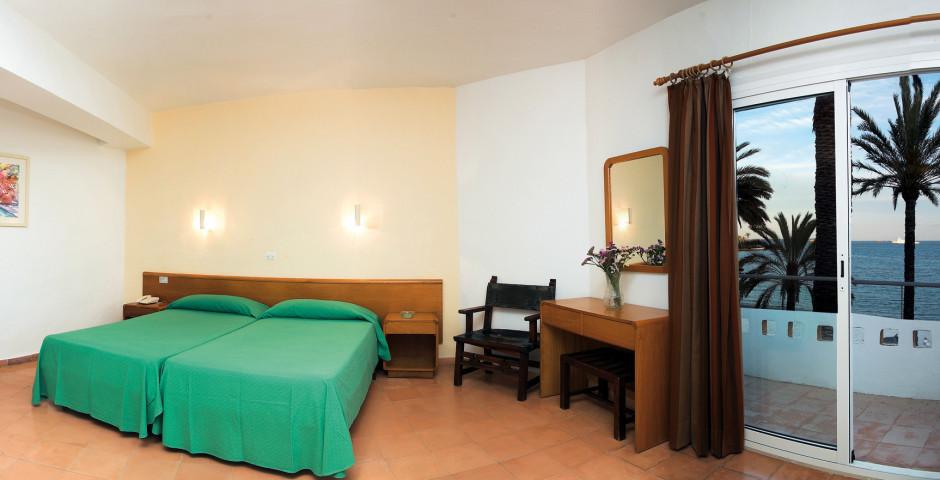 Chambre double vue mer - Hôtel Figueretas