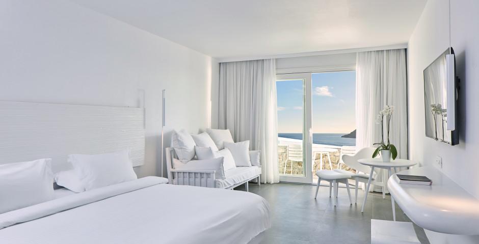 Doppelzimmer Superior mit Jacuzzi - Royal Myconian Resort