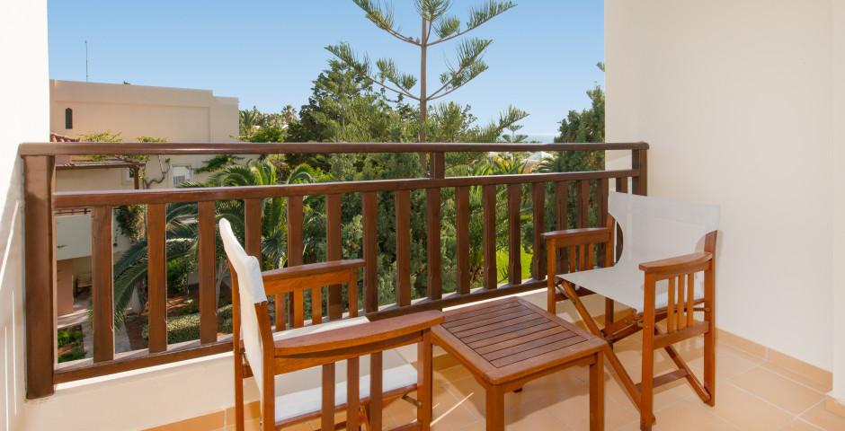 Doppelzimmer Gartensicht - Iberostar Creta Panorama & Mare