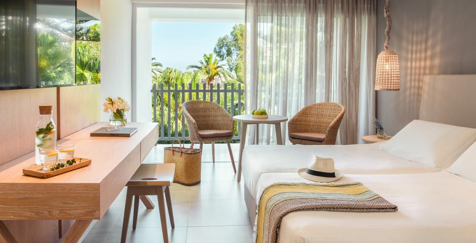 Doppelzimmer mit Gartensicht - Nissi Beach Resort