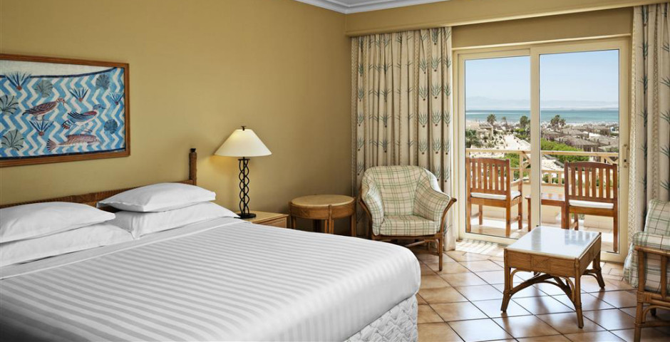 Doppelzimmer Meersicht - Sheraton Soma Bay Resort