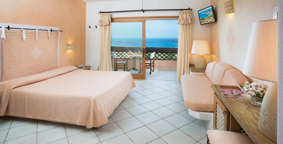 Chambre double Classic - Hôtel Marinedda Thalasso & SPA