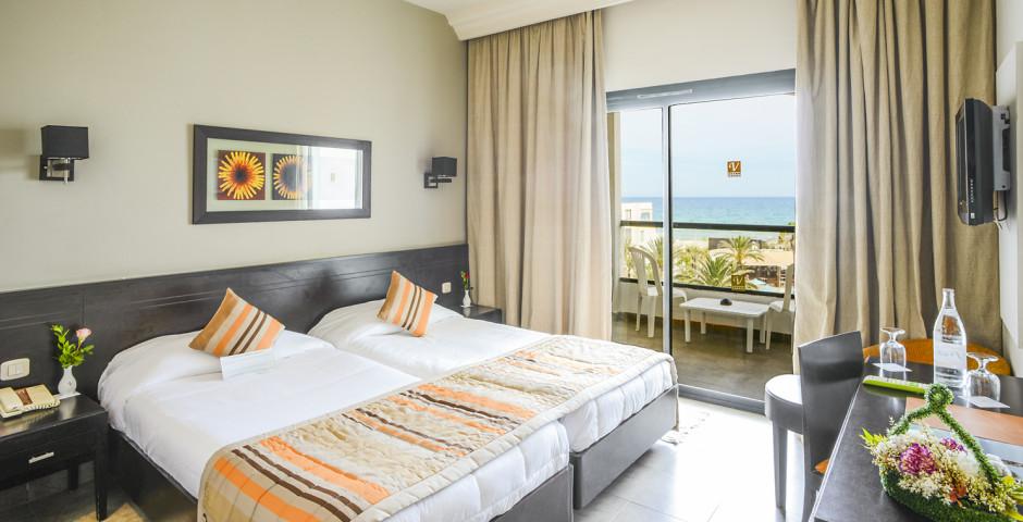 Doppelzimmer Meersicht - Vincci Nozha Beach