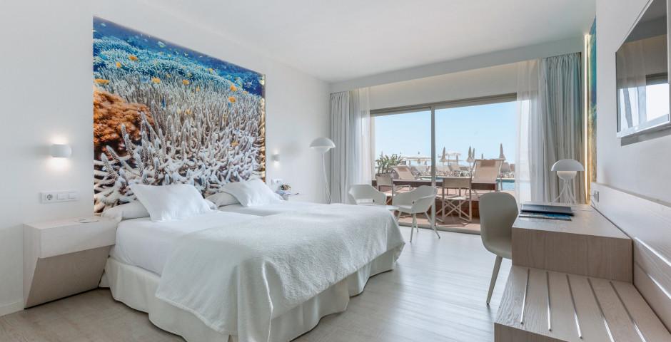 Doppelzimmer mit direktem Zugang zum Pool - Iberostar Fuerteventura Palace