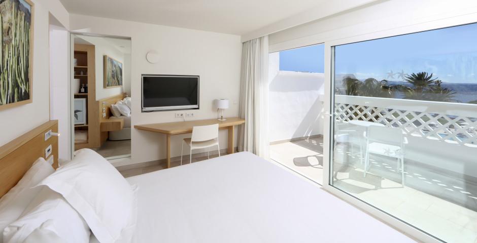 Doppelzimmer seitliche Meersicht - Iberostar Lanzarote Park