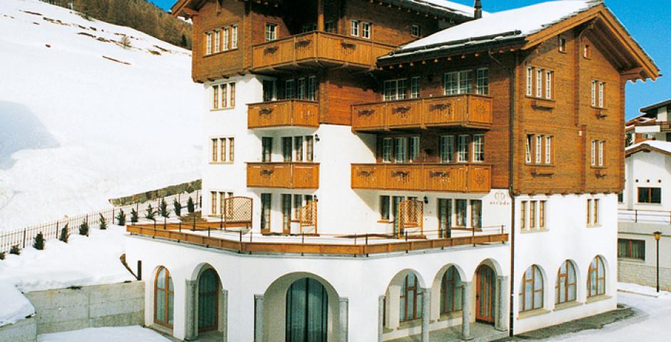 Arcade Apartments & Spa inkl. Bergbahnen