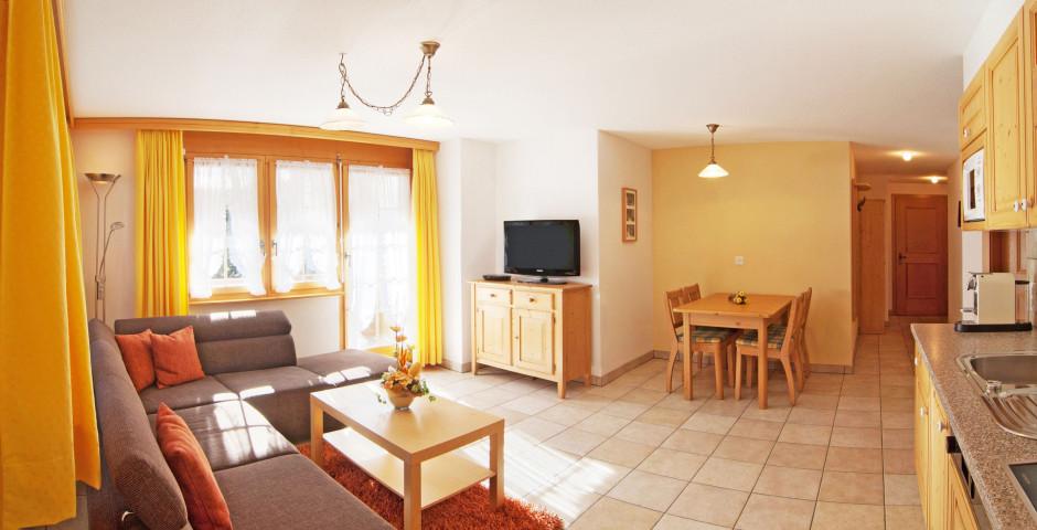 Wohnbeispiel 3-Zimmer-Wohnung - Arcade Apartments & Spa inkl. Bergbahnen