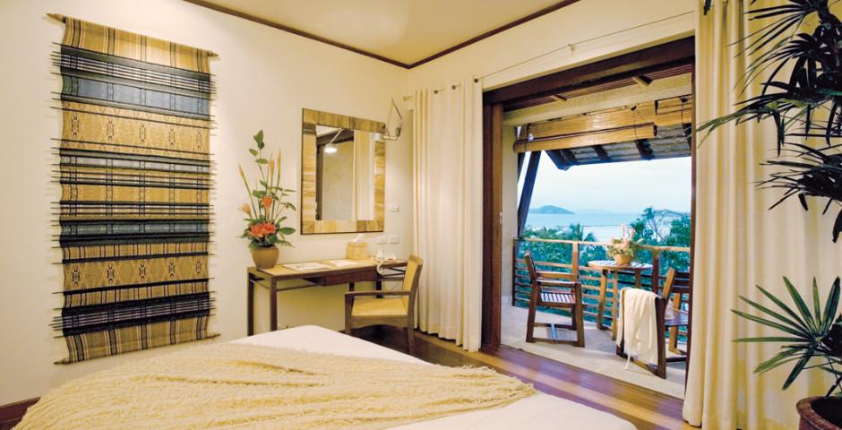 Hillside Meersicht Zimmer - Kamalaya