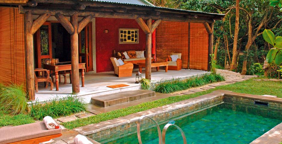 Garden Pool Suite - Lakaz Chamarel Exclusive Lodge