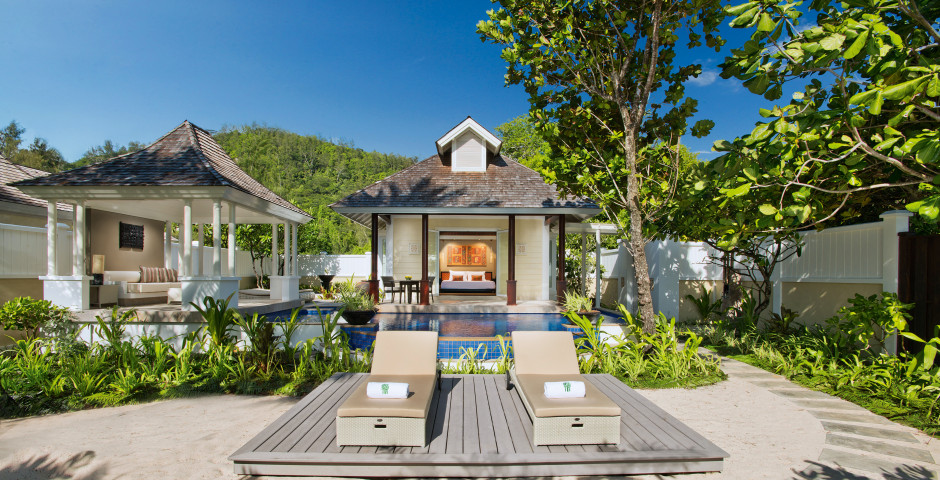 Villa Beachfront Pool - Banyan Tree Seychelles