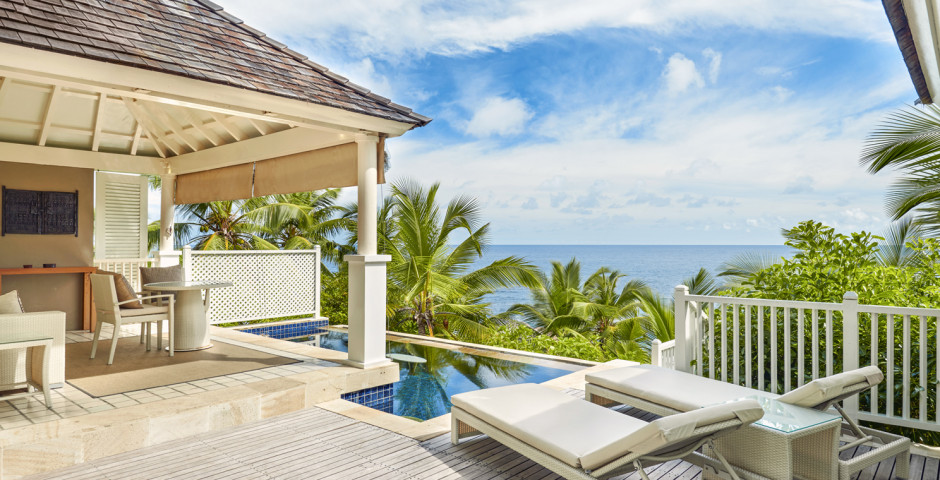 Villa Ocean View Pool - Banyan Tree Seychelles