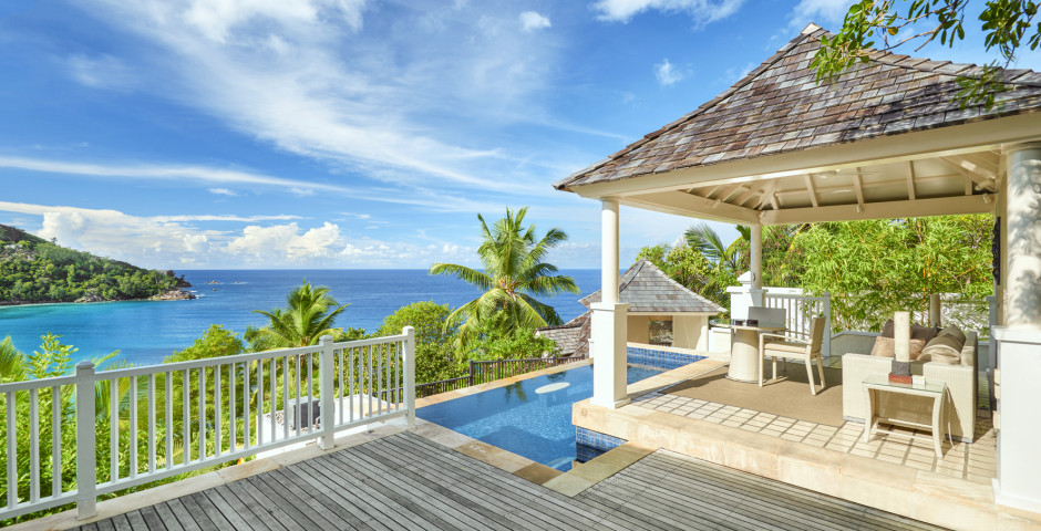 Villa Sanctuary Pool - Banyan Tree Seychelles