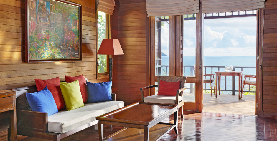 King Ocean Front Villa - Hilton Seychelles Northolme Resort & Spa