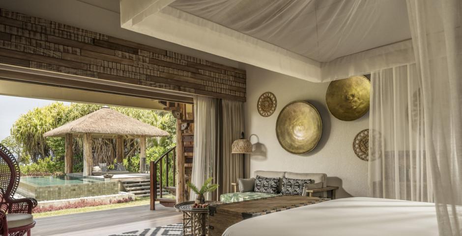 Sunset Beach Villa - Four Seasons Resort Seychelles at Desroches Island