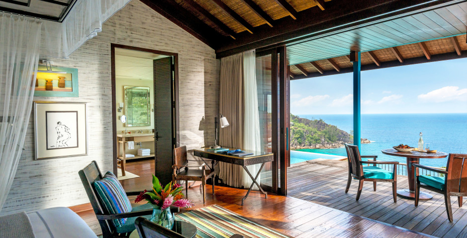 Hilltop Ocean View Villa - Four Seasons Resort Seychelles