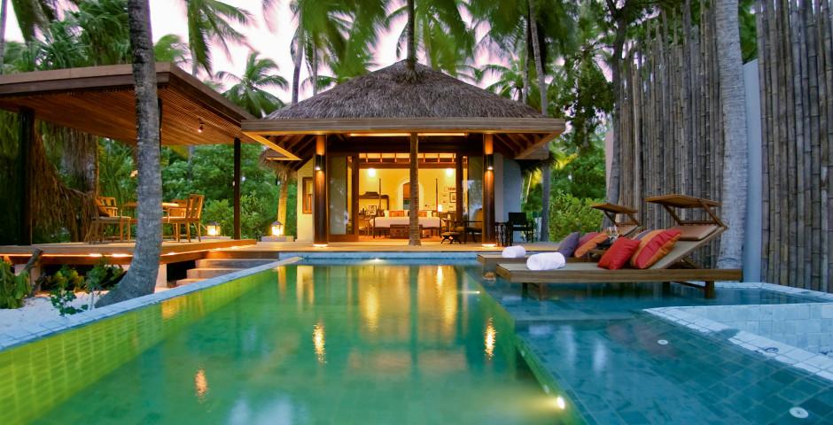 Beach Pool Villa - Anantara Kihavah Maldives Villas