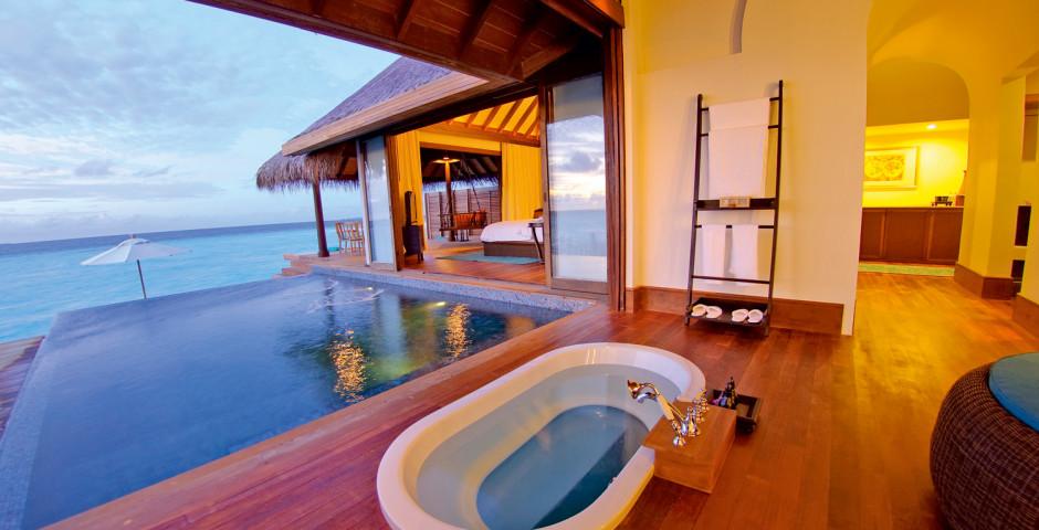 Over Water Pool Villa - Anantara Kihavah Maldives Villas