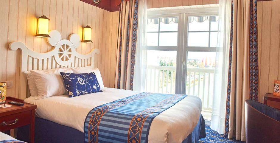 Standardzimmer - Disney's Newport Bay Club - inkl. Parkeintritt