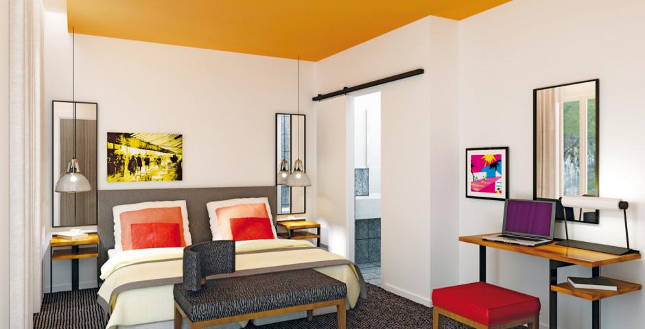 Zimmerbeispiel - Hotel Marais Bastille
