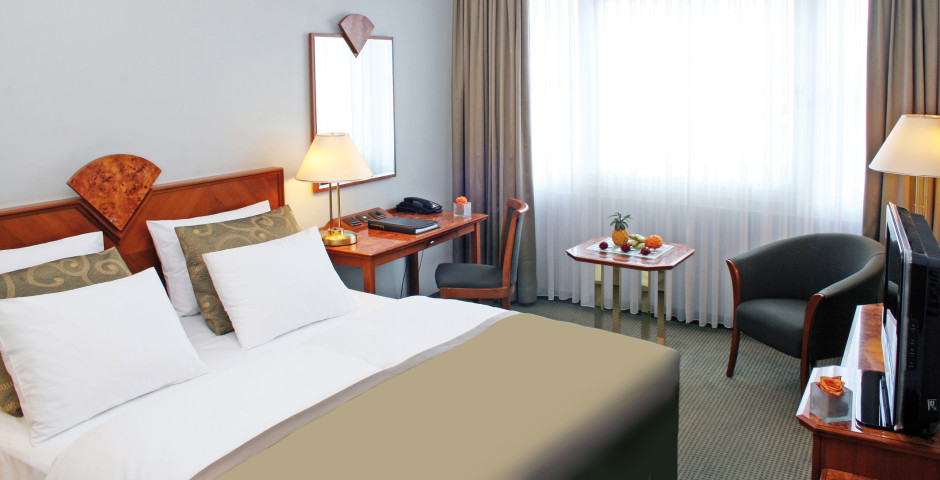 Doppelzimmer Superior - Crowne Plaza Berlin City Centre
