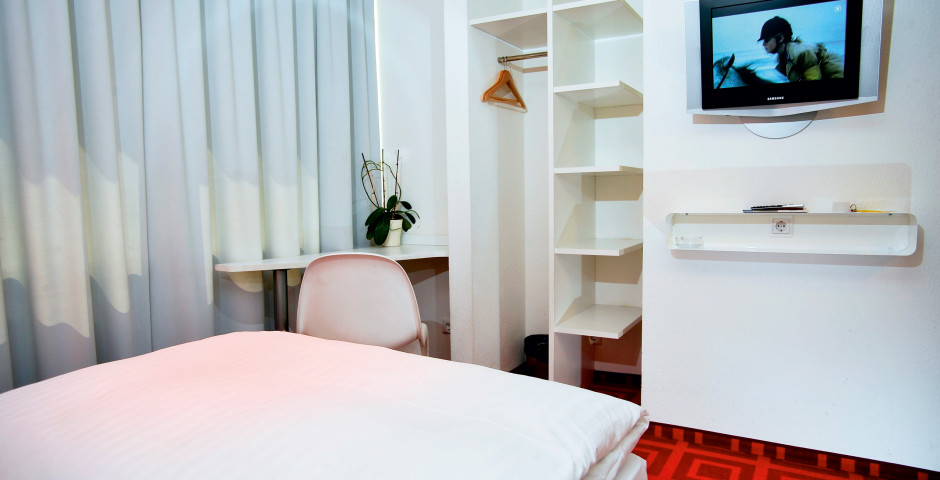 Einzelzimmer - City Hotel Monopol