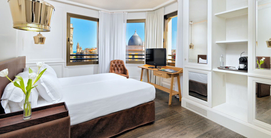 "Doppelzimmer ""Top View"" - H10 Montcada Boutique Hotel"
