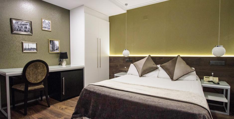 chambre double - Hôtel Moderno
