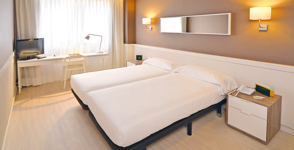 chambre double - Hôtel Paral.lel