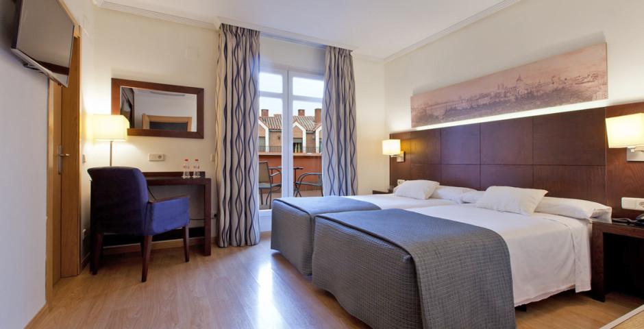 Doppelzimmer - Hotel Ganivet