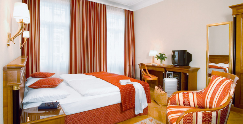 Wohnbeispiel Doppelzimmer - Austria Trend Hotel Astoria